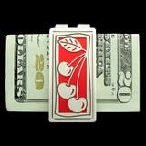 Cherries Money Clips