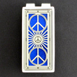 Peace Sign Money Clips