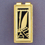 Writer's Money Clip