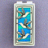 Hummingbird Money Clip