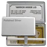 Discount Blank Mirror Wallet or Cigarette Case