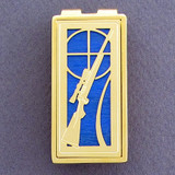 Hunting Rifle Money Clip