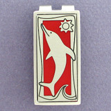 Dolphin Money Clip