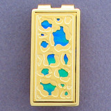Leopard Print Money Clip