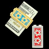 Soccer Money Clip