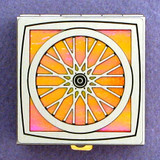 Bike Wheel Pill Box