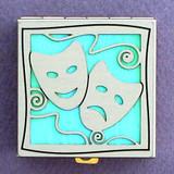 Mardi Gras Mask Pill Box