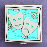 Mardi Gras Mask Pill Box