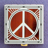 Peace Sign Pill Box
