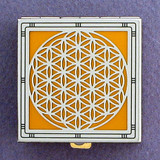 Flower of Life Pill Box