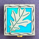 Oak Leaf Pill Box