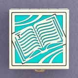 Reading Book Pill Box