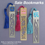 Tassel Bookmarks in Unique Designs On Sale