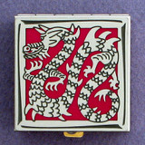 Chinese Dragon Pill Box