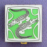 Alligator Pill Box