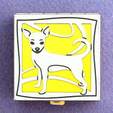 Chihuahua Dog Pill Box