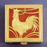 Rooster Pill Box