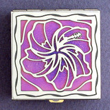 Tropical Hibiscus Pill Box