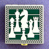 Chess Player Pill Box