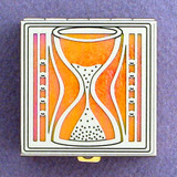 Hourglass Pill Boxes