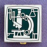 Science Microscope Pill Box