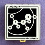Alcohol Molecule Pill Box