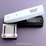 Stapler Style Slot Hole Punch for ID Badges