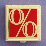 Percentage Symbol Pill Box