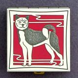 Akita Dog Pill Box