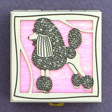 Poodle Pill Box