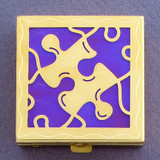 Puzzle Piece Pill Box
