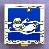 Sea Otter Pill Box - Blue, Silver
