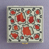 Leopard Print Pill Box