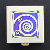 Spiral Tiny Pill Boxes