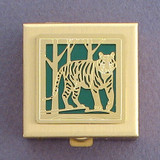 Tiger Tiny Pill Case