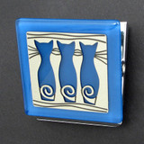 Three Cats Magnetic Clip