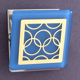Olympian Rings Fridge Magnet Clips