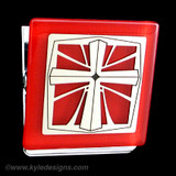 christian cross clip magnets