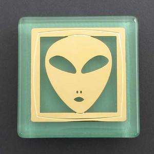 Alien Fridge Magnet