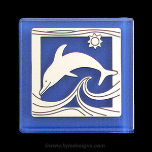 Dolphin Refrigerator Magnets