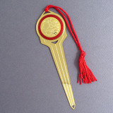 Circle Motif Letter Openers