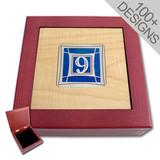 Custom Jewelry Box - Designer Inlays