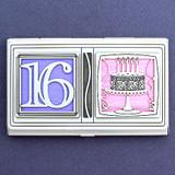 Sweet Sixteen Credit Card Case