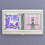 Beat the Castle Dragon Business Card Case