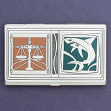 Attorney Business Card Holder Case