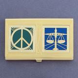 Peace & Justice Business Card Case