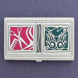 Beautician Business Card Case