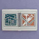Customized Housing Construction Business Card Case