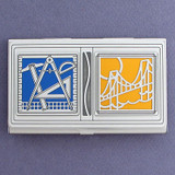 Structural Engineering Business Card Holder Case