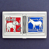 Election Politics Business Card Holders